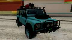 Land Rover Defender Adventure para GTA San Andreas