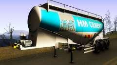 HM Cement Trailer para GTA San Andreas