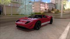 Vapid Bullet from GTA V para GTA San Andreas