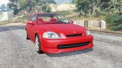 Honda Civic Type-R (EK9) 2000 v1.1 [replace] para GTA 5