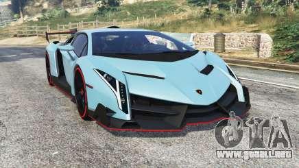 Lamborghini Veneno 2013 v1.1 [replace] para GTA 5