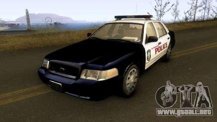 Ford Crown Victoria Las Payasadas PD para GTA San Andreas