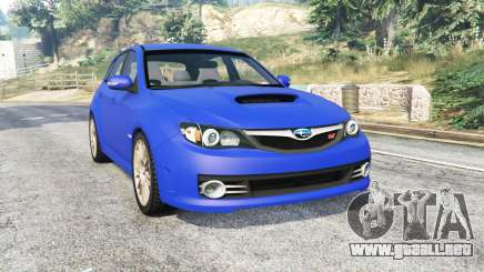Subaru Impreza WRX STI (GRB) v1.2 [replace] para GTA 5