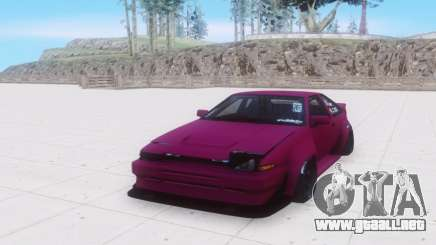 Toyota AE86 gris para GTA San Andreas
