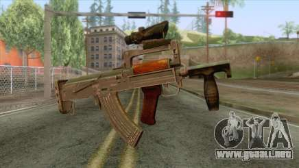 Playerunknown Battleground - OTs-14 Groza v2 para GTA San Andreas