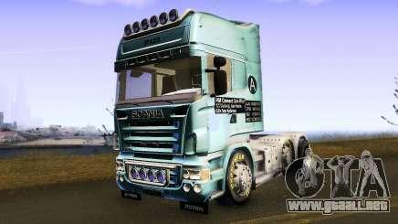 Scania R620 para GTA San Andreas