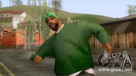 New Groove Street Skin 1 para GTA San Andreas
