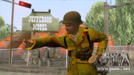 World War II - Camouflage Taiwanese Soldier para GTA San Andreas