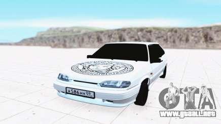 VAZ 2114 blanco para GTA San Andreas