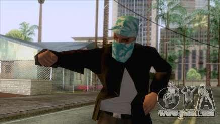 New Varios Los Aztecas Skin 2 para GTA San Andreas