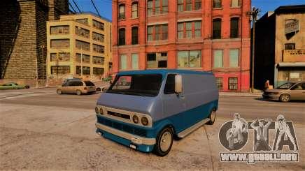 Bravado Youga Classic para GTA 4