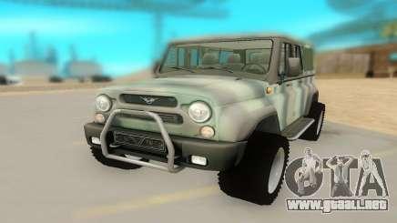 UAZ 29661 para GTA San Andreas