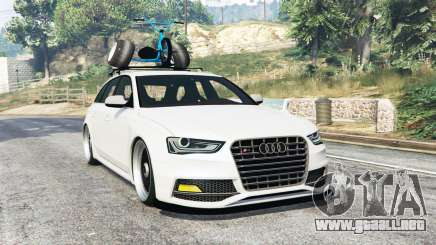 Audi RS 4 Avant (B8) 2014 v1.1 [replace] para GTA 5