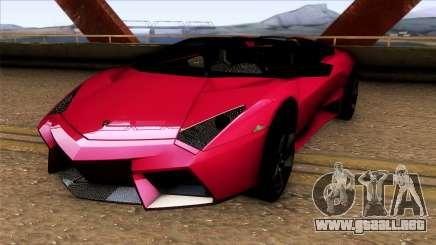 Lamborghini Reventon Roadster para GTA San Andreas