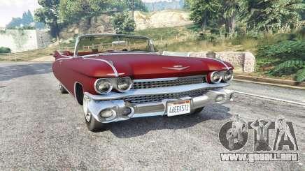 Cadillac Eldorado Biarritz 1959 v1.1 [replace] para GTA 5