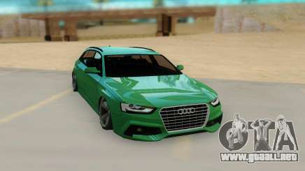 Audi RS4 Avant 2013 para GTA San Andreas