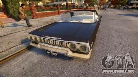 Chevrolet Impala 1964 Low rider para GTA 4