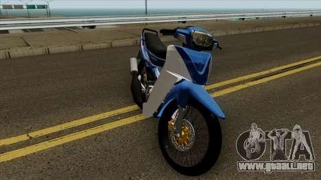 Suzuki RGV 120 V1 para visión interna GTA San Andreas