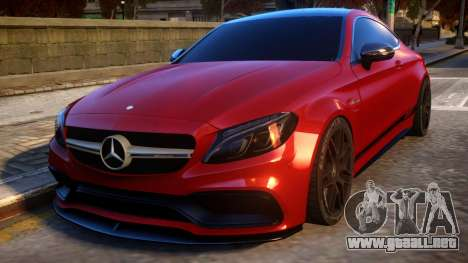 Mercedes-Benz AMG C63S Coupe para GTA 4