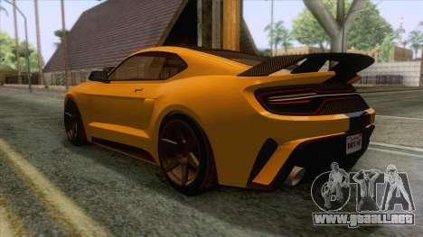 GTA 5 - Vapid Dominator GT350R IVF para la visión correcta GTA San Andreas