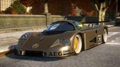 Mercedes C9 PRO le mans VIP car mod REL para GTA 4