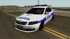 Skoda Octavia Mk3 Policija para GTA San Andreas