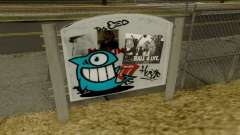 Graffiti ElPez in Idlewood para GTA San Andreas
