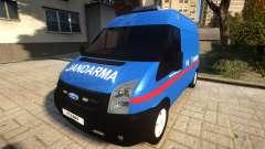Ford Transit Jandarma para GTA 4