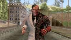 Batman Arkham City - Two-Face Skin para GTA San Andreas