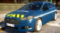 Ford CMax 2013 Gendarmerie Nationale para GTA 4