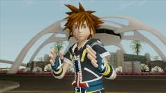 Kingdom Hearts 3 - Sora KH2 HD para GTA San Andreas