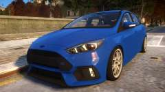 2017 Focus RS STOCK EDIT para GTA 4