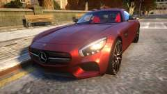Mercedes-Benz AMG GT3 2016 Baku Version para GTA 4