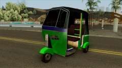 Indian Tuk Tuk Rickshaw (Indian Auto) para GTA San Andreas