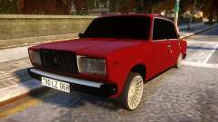 VAZ 2107 Forever Azerbaijan para GTA 4