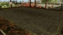 Basketball Court Retextured para GTA San Andreas