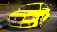 Volkswagen Passat B6 Sedan - NYC TAXI para GTA 4