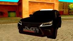Lexus LX570 2016 para GTA San Andreas