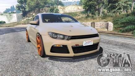 Volkswagen Scirocco v1.1 [replace] para GTA 5