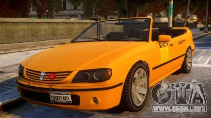 Taxi New Look para GTA 4