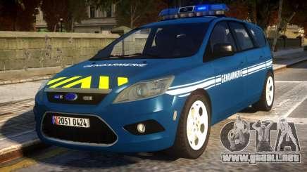 Ford Focus Gendarmerie para GTA 4
