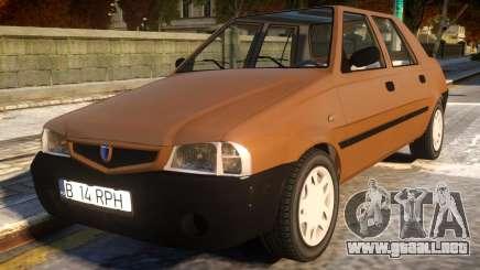Dacia Solenza Plastic para GTA 4