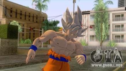 Skin Goku Instinto Superior Dominado para GTA San Andreas