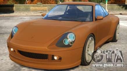 Comet to Porsche para GTA 4