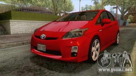 Toyota Prius 2010 para GTA San Andreas