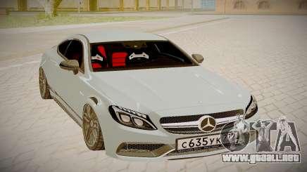 Mercedes-Benz C63S para GTA San Andreas