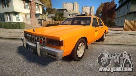 Declasse Classic Taxicar para GTA 4