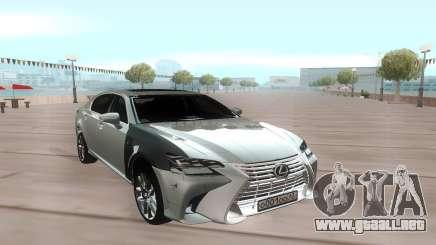 Lexus GS 350 2017 para GTA San Andreas