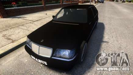 Mercedes Benz W140 Brabus para GTA 4
