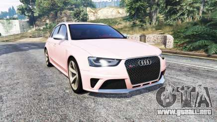 Audi RS 4 Avant (B8) 2013 [replace] para GTA 5